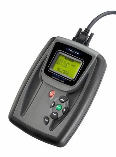 Dc Battery Tester : Spectro ca dc for deep cycle lead acid batteries