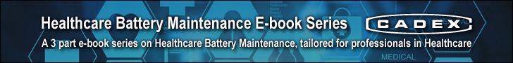 Healthcare Battery Maintenance E-book Series