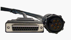 C8000 Power and Auxiliary Port Cables