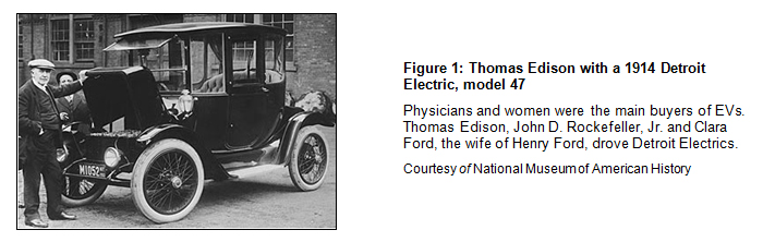 Thomas Edison 1914 Detroit Electric