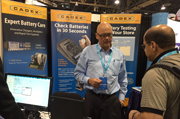 Cadex Electronics presents the new iPhone battery testing adaptors at CTIA Supermobility