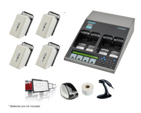 C7400ER All-in-one Advanced Medical Battery Maintenance Bundle for Phillips HeartSmart MRx (07-110-9770)