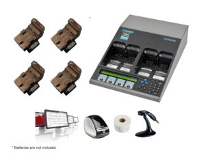 C7400ER All-in-one Advanced Medical Battery Maintenance Bundle for Vocera B1000 Communications Badge (07-111-0120)