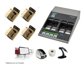 C7400ER All-in-one Advanced Medical Battery Maintenance Bundle for Philips IntelliVue MP2/MMS X2 (07-111-4930)