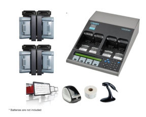 C7400ER All-in-one Advanced Medical Battery Maintenance Bundle for Medtronics LP15 Defibrillator (07-111-5400)