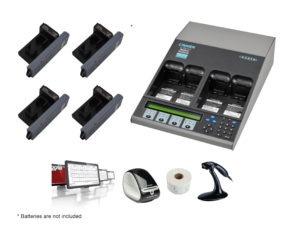 C7400ER All-in-one Advanced Medical Battery Maintenance Bundle for GE Medical Carescape B Series Adapter (07-111-5990)