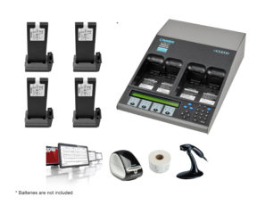 C7400ER All-in-one Advanced Medical Battery Maintenance Bundle for Welch Allyn VSM 6000 Series (07-111-6490)